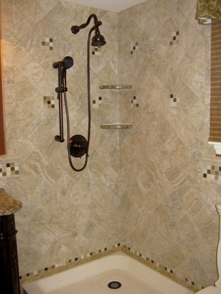 Choosing trendy bathroom tiles decor for Trendy bathroom tiles